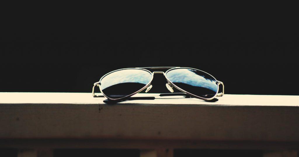 aviatora stila saulesbrilles
