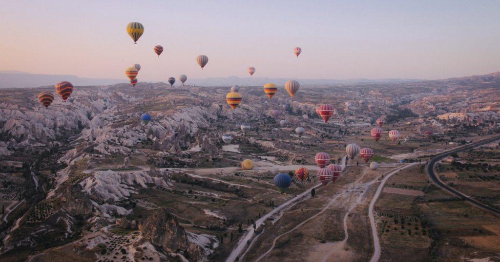 gaisa balons mūsdienās